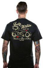 Lucky 13 T-Shirt Shirt Men Vintage Iron Black/Schwarz