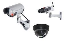 Kameraattrappe Überwachungskamera Camera IR Kamera Attrappe Dummy LED Licht CCTV