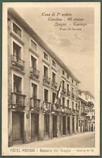 VICENZA BASSANO DEL GRAPPA 10 HOTEL ALBERGO Cartolina viaggiata 1911