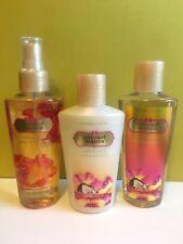 3 New Victoria's Secret Vs Fantasies Fragrance Body Mist, Lotion & Wash COCONUT