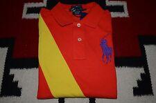 Ralph Lauren Blue Label Big Pony 100% Cotton Skinny Mesh Polo Shirt