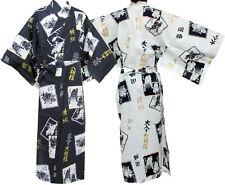 Japanese Kimono Men's Casual Cotton Yukata Robe Sumo Wrestler #937 Samurai Gown
