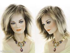 Medium Straight Blonde Brunette Red Grey Costume Wigs