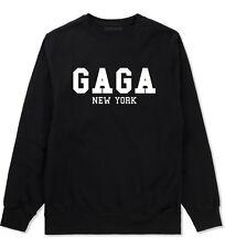 Kings of NY GaGa New York Crewneck Sweatshirt NYC Lady Music Art Pop Fan Fashion