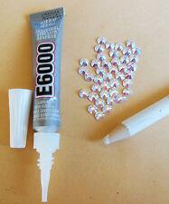 Bling Kit-E6000 Pegamento Con nozzle/cap, Recolector Lápiz & Swarovski cristales AB