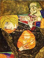 Egon Schiele Reproductions: Holy Family - Fine Art Print