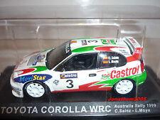 TOYOTA COROLLA WRC # 3 AUSTRALIA RALLY 1999 SAINZ MOYA  au 1/43°