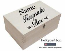 Keepsake Box - Personalised Memory Box - Vinyl Sticker for Box - ADD NAME