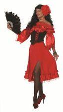 WIL - Damen Kostüm roter Rock Spanierin Karneval Fasching