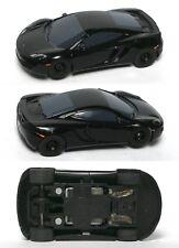 2011 Micro Scalextric McLAREN MP4-12C GT HO Slot Car WOW VERY Sleek &Shiny Black