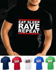 Comer dormir Rave repetir T Shirt Casa Dj htid Hardcore ácido Ibiza Armin Van Buuren
