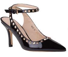 Scarpe tacco scarpe donna scarpe borchie scarpe donna cinturino scarpe vernice