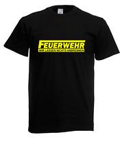 Herren T-Shirt Feuerwehr bis 5XL