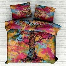 Tye-Dye Tree Mandala Indian Twin/Queen Duvet Doona Cover Quilt Cover Bedding Set