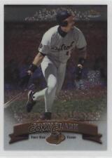 1998 Topps Finest No Protector #20 Tony Clark Detroit Tigers Baseball Card