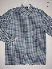 HAMMERSCHMID - Trachtenhemd, Blau - Grün kariert, Gr. 116, 128,140 NEU