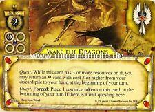 Warhammer Invasion - 1x Wake the Dragons  #010