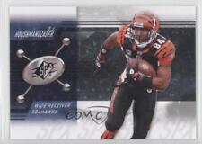 2009 SPx #82 TJ Houshmandzadeh Cincinnati Bengals Seattle Seahawks T.J. Card
