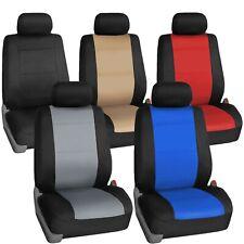 Car Seat Covers Neoprene Heavy Duty Waterproof Front Set Universal Fit