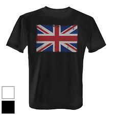United Kingdom Flagge Herren T-Shirt Fun Shirt Fahne Banner Vintage Grunge UK