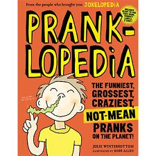 Pranklopedia by Workman Publishing Book Magic Trick prank gag jokes fun humour