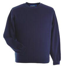 Papini Sweatshirt Jumper Mens Ladies Classic Work Wear Jumper Top Plain
