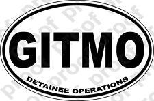 STICKER MILITARY GITMO VETERAN GITMO