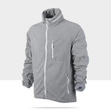 Nike Men's New Sptcas Firefly Seersucker Black White Zip-Up L/S Jacket  M-3XL