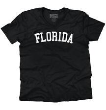 Florida State Shirt Athletic Wear USA T Novelty Gift Ideas V-Neck T-Shirt