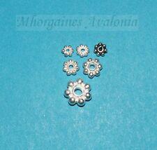 Spacer Daisy Blümchen Sterlingsilber 925/-- 4 Varianten - 3 Größen Zwischenteile
