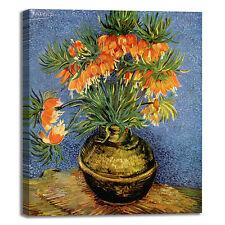Van Gogh fritillaria imperiale quadro stampa tela dipinto telaio arredo casa