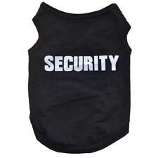 Pet Dog Clothes Dress T-Shirt Security Appeal  Cat Clothes Vest Bow Skirt
