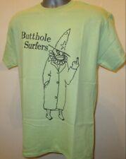 Butthole Surfers Punk Noise Rock Music T Shirt Clown Green Big Black Primus 334