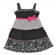 Sophie Fae Girls Polka Dot & Animal Print Dress Size 4 5  $24.99