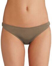 EDA Luxury Essentials Bikini Brief Swim Side Ring  Taupe Size XL UK 16 NEW