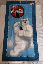 Coca-Cola - DRAP DE BAIN OU PLAGE 1998 NEUF COCA-COLA L'OURS 75 cm x 150 cm
