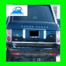 2003-2013 LAND ROVER RANGE ROVER PRECUT CHROME TRUNK TAILGATE TRIM MOLDING WRNTY
