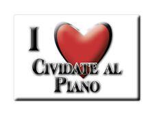 CALAMITA LOMBARDIA FRIDGE MAGNET MAGNETE SOUVENIR LOVE CIVIDATE AL PIANO (BG)