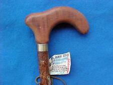 sleek Tulip Cane walking-stick Mahogany Fritz Handle