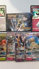 Carte Pokemon au Choix SL8 Tonnerre Perdu GX Holos Rares Reverses Neuf VF