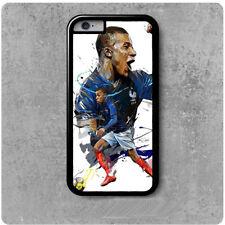 coque Iphone 4/5/6/7/8/X footbal équipe de france Kylian Mbappé