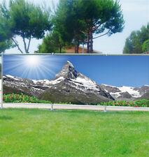 Paravento vista decocrazione personalizzato jardins,terrasses e balconi Il Alpes
