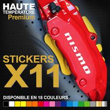 Stickers autocollants adhésifs pour étrier de frein -Nismo Nissan GTR Titan Juke