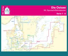 2018 Seekarten NV-Verlag Ostsee Kombipack aktuellen Sätze und Koffer zur Auswahl