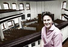 Author Harper Lee To Kill A Mockingbird Pulitzer Color Photo Courthouse - I10062
