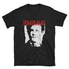 Arthur Rimbaud - limited edition classic black tribute t-shirt
