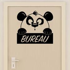 Sticker Mural Bureau Décoration Panda Mignon, 20x20 cm à 30x30 cm (PAND016)