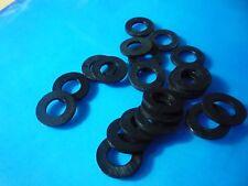 Packs of 250, 500, 1000   M3, M4, M5, M6, M8  BLACK  NYLON (Plastic) WASHERS