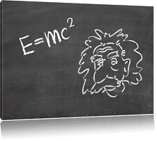 Albert Einstein Leinwandbild Wanddeko Kunstdruck
