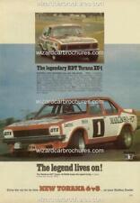 1974 LH TORANA L34 PETER BROCK A5 DISPLAY CARD BROCHURE BIANTE 1:18 DIORAMA